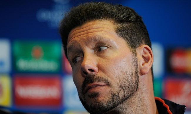 Az Atlético edzőjét eltiltották a bajnokság utolsó meccseiről