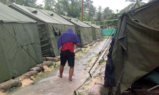 Bezárnak egy menekülttábort, ahol migránsokat tartottak fogva