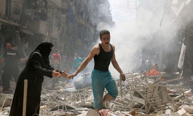 Kétszáznál is több civil halottja van az aleppói harcoknak