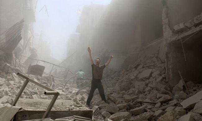 Kórházakat bombáztak, újszülöttel is végeztek