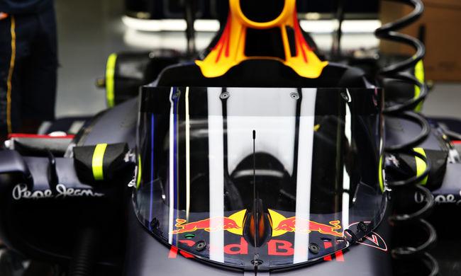 A Red Bull bemutatta a szélvédőjét, holnap próbálja ki a csapat - galéria