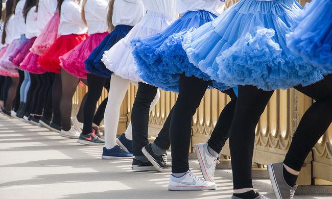 A tánc világnapja - képgaléria a budapesti flashmobról