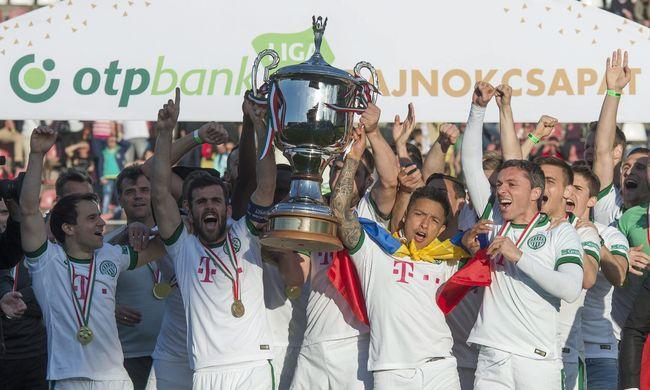 A Paks nyert az NB I utolsó idei mérkőzésén, a Fradi átvette a bajnoki serleget