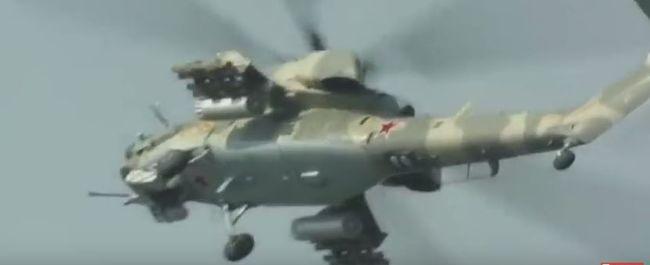 A Szíriában lezuhant orosz harci helikopter pilótái nem tudtak tájékozódni