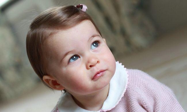 Több, mint egy millió forintos aranycsörgőt kapott az egy éves hercegnő