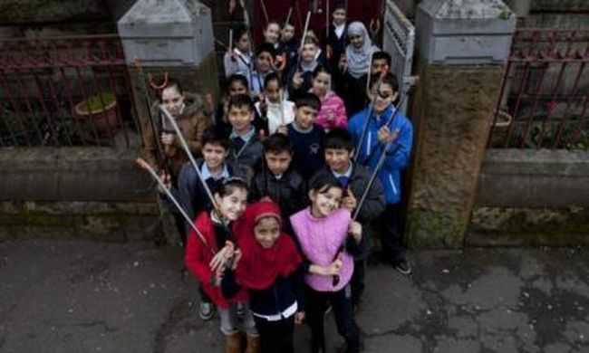 Van egy olyan skót iskola, amelynek egyetlen skót diákja sincs