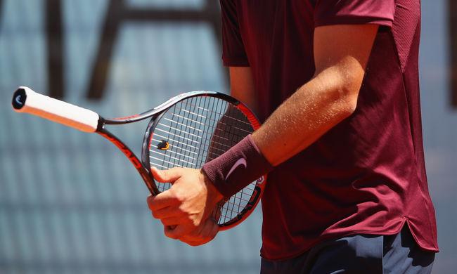 Nagyon sportszerűtlen módon kapott ki a világranglista 22. teniszező - videó