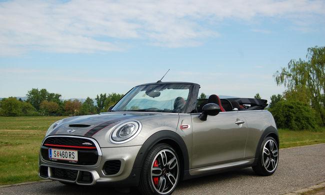 Megérkezett az új Mini Cabrio a magyar piacra