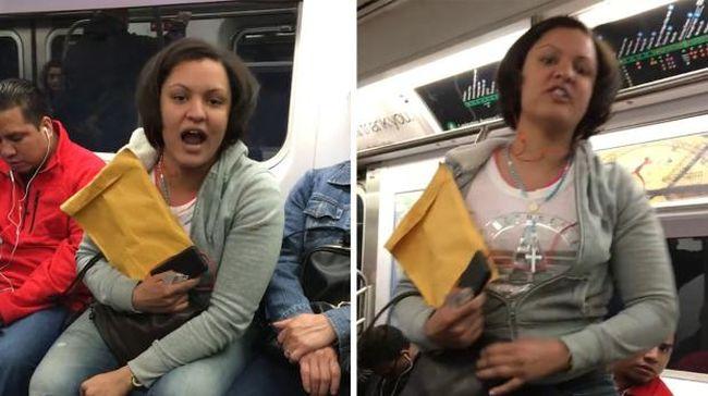 Megtámadták a transznemű nőt a metrón, senki nem segített neki - videó