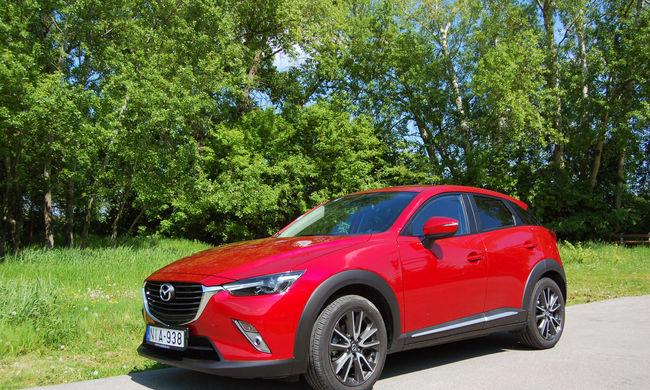 Pengeélen táncoló - Mazda CX-3 2.0 Skyactiv AWD teszt