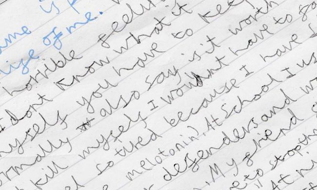 A 9 éves fiú levélben írta meg, milyen a depresszió