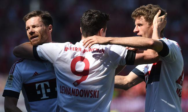 A Bayern München megnyerte a német bajnokságot