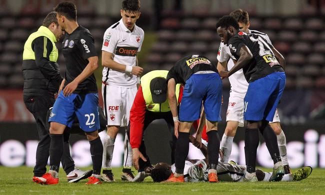 A pályán meghalt focista miatt halasztanak meccseket