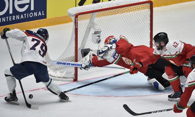 Kikapott Szlovákiától a férfi hokicsapat a világbajnokságon