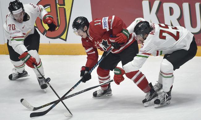 Szépen helytállt Kanada ellen a magyar hokicsapat