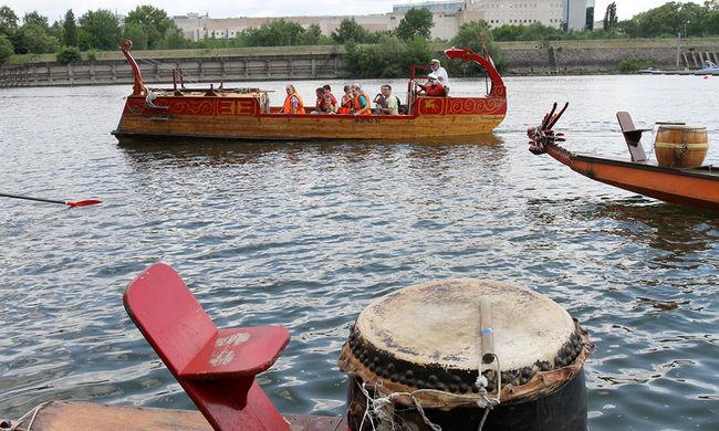 Sárkányhajók, evezős versenyek és sétahajókázás a Vízimajálison - képgaléria