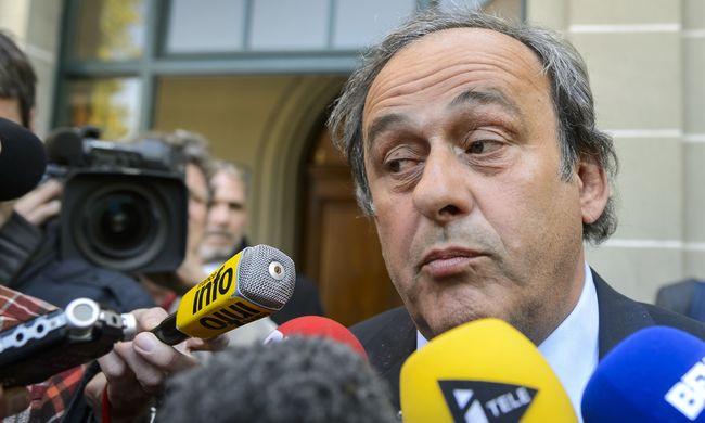 Nem kegyelmeztek meg Platininek, aki lemondott az elnöki posztjáról