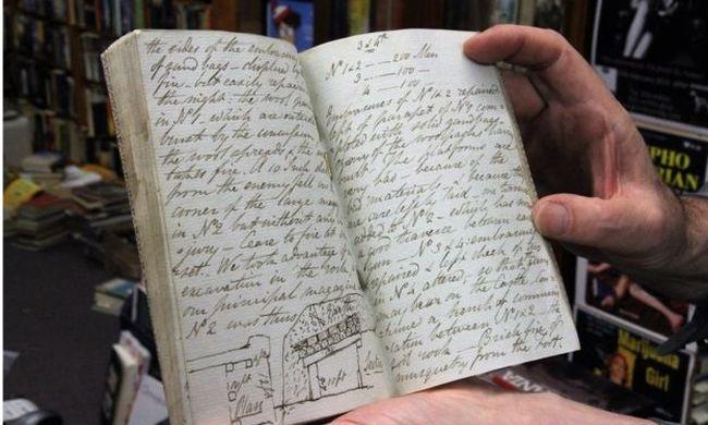 200 éves kincset találtak egy szekrényben: kézzel írt katonanapló került elő a napóleoni időkből