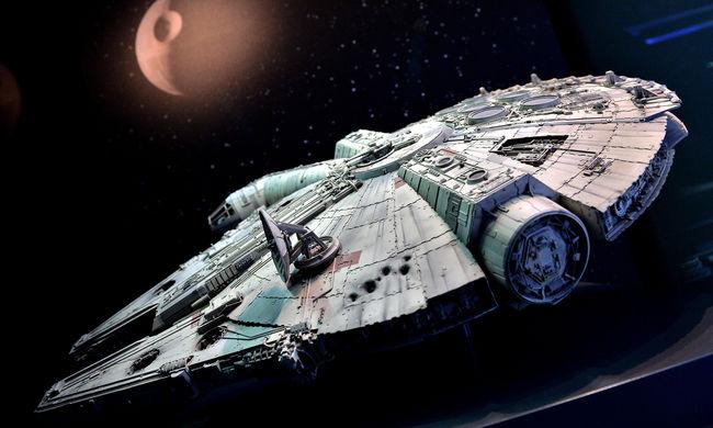 Star Wars: Han Solo űrhajóját látták az ír partoknál