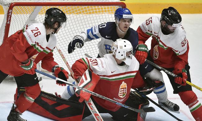 Harminchét percig bírta a magyar jégkorong-válogatott Finnország ellen