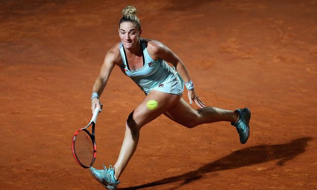 Hatalmas teljesítmény: legyőzte híres amerikai riválisát a magyar teniszező