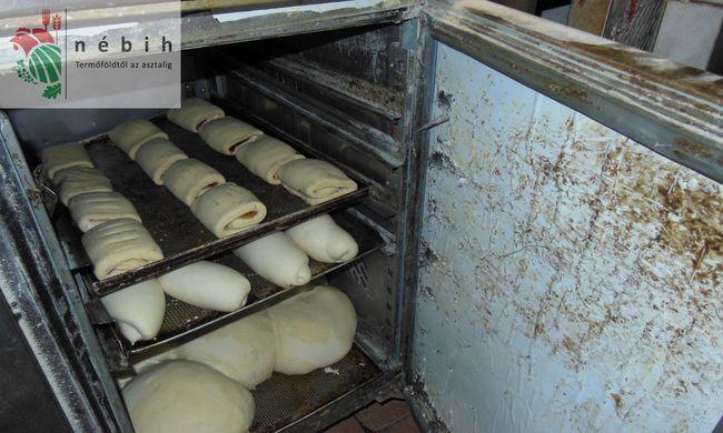 Kondenzvíz folyt a romlott szalonnára, bezárták a pékséget