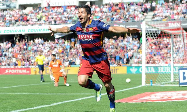Bajnok a Barcelona, Suárez mesterhármast lőtt - videó