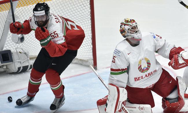 Óriási siker, legyőzte Fehéroroszországot a jégkorong-válogatott - videó