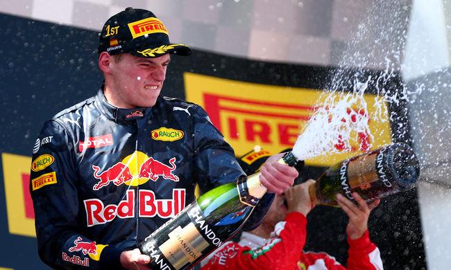 Szenzáció! Verstappen nyerte a Spanyol Nagydíjat - videó