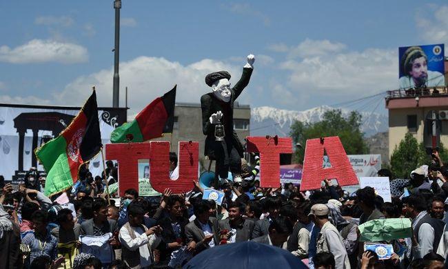 Áramért tüntettek Kabulban