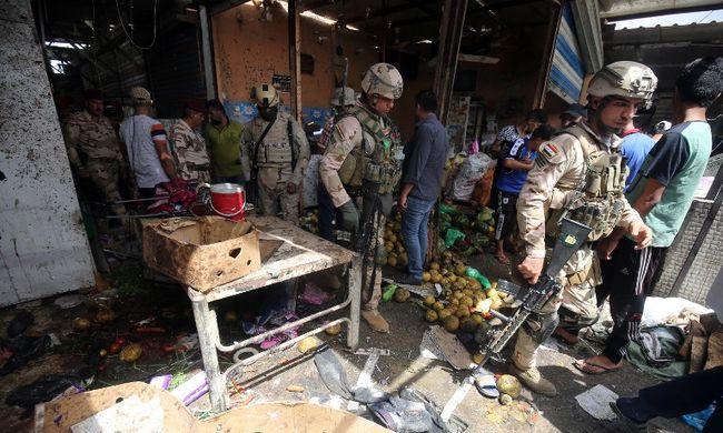 Autóba rejtett bomba robbant, legalább száz ember megsebesült