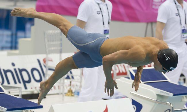 Negyedik és 8. hely a vizes Európa-bajnokság harmadik napján