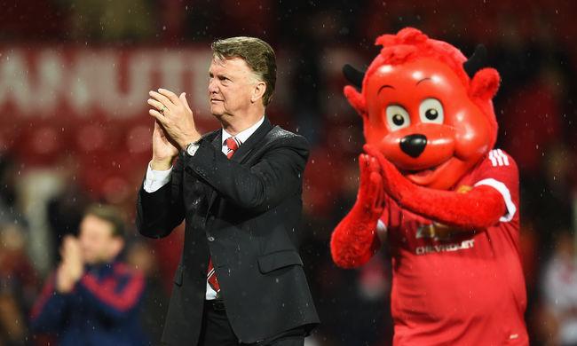 Lehet, hogy ez volt Van Gaal utolsó meccse a Manchester kispadján
