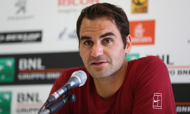 Federer visszalépett a Roland Garrostól