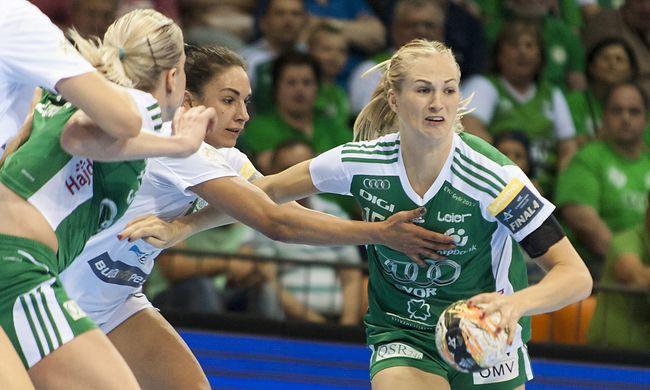 A Győr simán nyert a döntő első meccsén a Fradi ellen