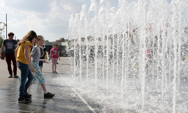 Sosem volt még ilyen meleg Budapesten ezen a napon