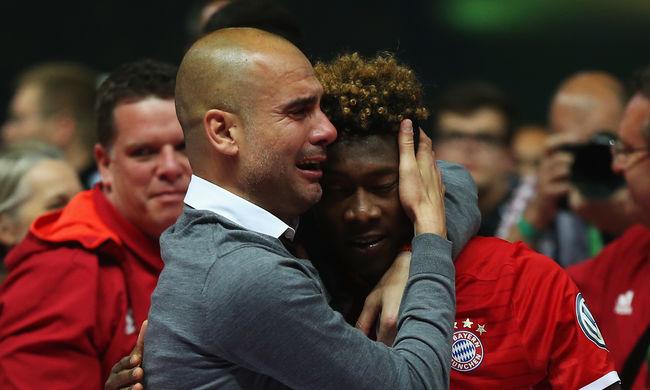 Sírva búcsúzott Guardiola a Bayerntől - képgaléria
