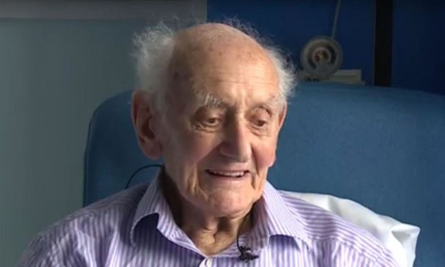 99 évesen küzdötte le a rákot, ő a legidősebb túlélő