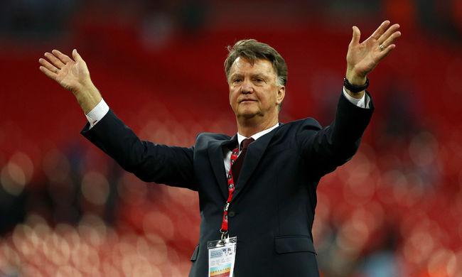 Kirúgta a Manchester United Louis van Gaalt