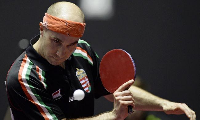 Sporttörténelmet írt a magyar asztaliteniszező