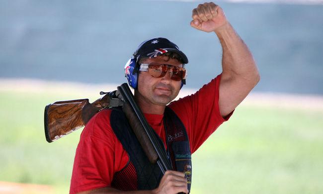 Fegyvert találtak a súlyosan ittas olimpiai bajnoknál