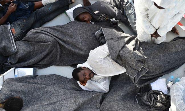 Az emberkereskedelem felszámolásáért Líbiában kell beavatkozni