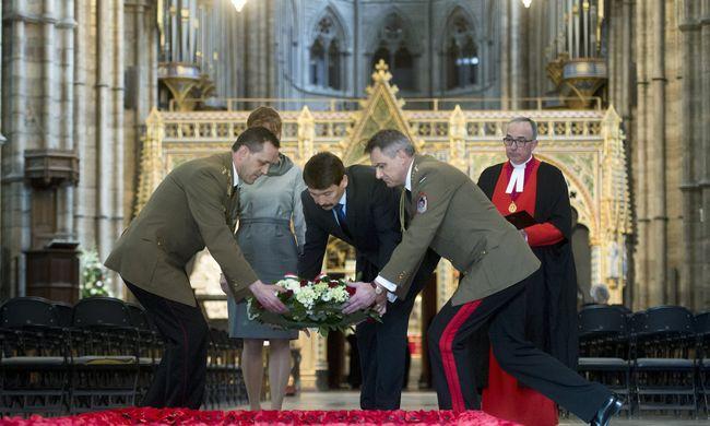 Rangos kitüntetést kapott Áder János Londonban