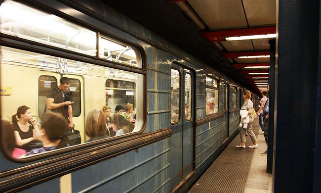 Métereken át tolta maga előtt a holttestet a metró