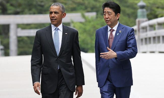 Féltik Obama életét, 4000 rendőr védi az elnök biztonságát Hirosimában