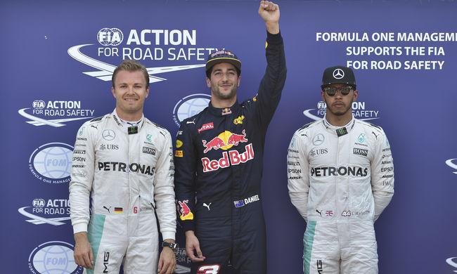 Ricciardo nyerte az időmérő edzést Monacóban