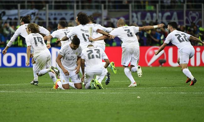 Hiába küzdött az Atlético, megint a Real nyerte a Bajnokok Ligáját!
