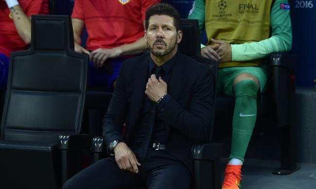 Otthagyná az Atléticót Simeone a BL-vereség után?
