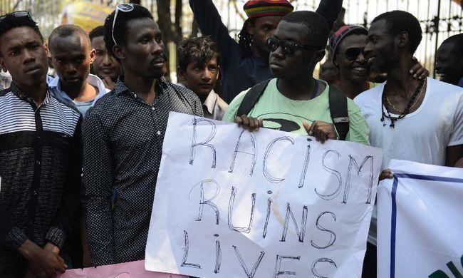 Egyre több rasszista támadás éri az afrikaiakat - Indiában