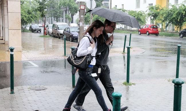 Rengeteg eső és lehűlés jön
